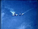 Hai chiếm hạm của Nga và Mỹ suýt va chạm trên biển Thái Bình Dương (Ảnh: U.S Navy)
