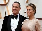 Tom Hanks và vợ, Rita Wilson, trong lễ trao giải Oscar lần thứ 92 tổ chức vào ngày 9/2/2020 (Ảnh: AFP)