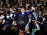 Ông Yoshihide Suga giành chiến thắng thuyết phục trong cuộc bầu cử lãnh đạo đảng LDP hôm 14/9 (Ảnh: Getty)