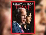 Ông Joe Biden và bà Kamala Harris được Time bình chọn là Nhân vật của Năm 2020 (Ảnh: Brightspot)