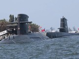 Đài Loan đang tăng cường sức mạnh của mình bằng cách chế tạo hạm đội tàu ngầm mới (Ảnh: Kyodo)