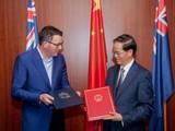 Australia đã hủy thỏa thuận Sáng kiến Vành đai và Con đường mà bang Victoria từng ký với Trung Quốc năm 2018 (Ảnh: Handout)