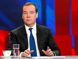 Cựu Tổng thống Nga Dmitry Medvedev nêu quan ngại về quan hệ Nga-Mỹ và tầm ảnh hưởng với sự ổn định của thế giới (Ảnh: RT)