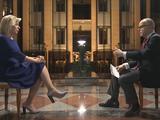 Phát ngôn viên Bộ Ngoại giao Nga Maria Zakharova (trái) trong cuộc phỏng vấn độc quyền với RT (Ảnh: RT)