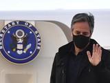 Ngoại trưởng Mỹ Antony Blinken đã tới London để tham gia cuộc họp của nhóm G7 (Ảnh: AP)