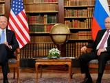 Lãnh đạo Mỹ, Nga trong cuộc gặp tại Geneva, Thụy Sĩ hôm 16/6 (Ảnh: Axios)