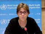 Tiến sĩ Mariangela Simao trong cuộc họp báo của WHO ngày 25/6. Ảnh: WHO.