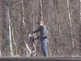 Hình ảnh cắt từ đoạn phim camera an ninh ghi lại (Ảnh: RT)