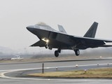 Chiến đấu cơ F-22 Raptors của Mỹ (Ảnh: AP)