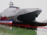 Đài Loan đã bắt đầu sản xuất hàng loạt tàu tên lửa hộ tống lớp Tuo Jiang mà họ tự phát triển (Ảnh: SCMP)