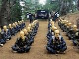Các chiến binh của ISIS-K trong một bức ảnh tuyên truyền của tổ chức này (Ảnh: NYPost)