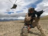 Hình ảnh binh sĩ PLA tập trận trong đoạn băng mới được công bố (Ảnh: Handout)