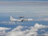 Máy bay KJ-500 của Trung Quốc đi vào ADIZ của Đài Loan trong hôm 2/10 (Ảnh: EPA)