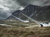 NMESIS bao gồm tên lửa NSM, hệ thống điều khiển từ xa ROGUE-Fires và phần khung là xe tác chiến hạng nhẹ (Ảnh: US Marines)
