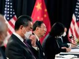 Ông Dương Khiết Trì (giữa) sắp có cuộc gặp với đại diện Mỹ ở Thụy Sĩ (Ảnh: AFP)