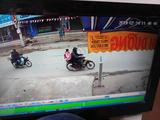Hình ảnh Nguyễn Trọng Trình chở cháu bé đến vườn chuối để xâm hại. Ảnh: Công an cung cấp