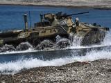 BRT-82AM- xe bọc thép siêu hiện đại của quân đội Nga có thể tác chiến được ở mọi địa hình.