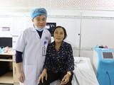 Người bệnh hoàn toàn khỏe mạnh ngay sau khi lấy khối u