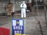 Một nhân viên y tế tại thành phố Vũ Hán, Trung Quốc. Ảnh: JET CHEN