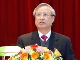 Ông Trần Quốc Vượng - Ủy viên Bộ Chính trị, Thường trực Ban Bí thư. Ảnh: Gia Hân