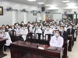 Các bác sĩ tại buổi tập huấn. Ảnh: Bệnh viện Da liễu Trung ương.