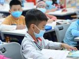 Học sinh đeo khẩu trang để phòng bệnh. Ảnh: Bộ GD&ĐT
