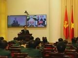 Phó Thủ tướng Vũ Đức Đam tại hội nghị. Ảnh: Đình Nam