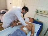 Bệnh nhân Đinh Ngọc N. dần hồi phục sau mổ. Ảnh: BVCC