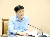 Quyền Bộ trưởng Bộ Y tế Nguyễn Thanh Long (Ảnh: Trần Minh)