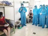 Bộ Y tế kiểm tra công tác phòng chống dịch (Ảnh - BYT)