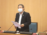 Ông Hoàng Đức Hạnh – Phó Giám đốc Sở Y tế TP. Hà Nội (Ảnh - Thọ Dương)