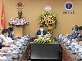 Bộ Y tế họp về tổ chức chiến dịch tiêm chủng vaccine phòng COVID-19 ở Việt Nam (Ảnh - Trần Minh)