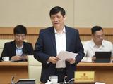 Bộ trưởng Bộ Y tế Nguyễn Thanh Long (Ảnh - Quang Hiếu/VGP)