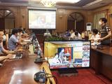 UBND tỉnh Bắc Giang cùng Sở Y tế tỉnh đã phối hợp với Viện Vệ sinh Dịch tễ Trung ương hướng dẫn trực tuyến việc số hoá dữ liệu xét nghiệm (Ảnh - Hoàng Dương)