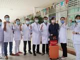 Đội cơ động phản ứng nhanh chống dịch viêm đường hô hấp ở Bệnh viện Chợ Rẫy chi viện cho Bắc Giang (Ảnh - BYT)