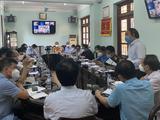 Bộ Y tế họp trực tuyến với các bệnh viện trị COVID-19 (Ảnh - BYT)