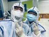 Bác sĩ của Bệnh viện Đại học Y Dược TP. Hồ Chí Minh xung phong vào tâm dịch COVID-19 (Ảnh- Bệnh viện Đại học Y dược TP. Hồ Chí Minh)