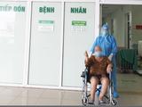 Bệnh nhân K. hồi phục và được xuất viện (Ảnh - BVCC)