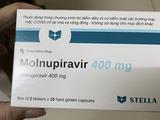Thuốc Molnupiravir (Ảnh - T.H)