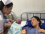 Cứu cống mẹ con sản phụ bị nhau cài răng lược nguy kịch tính mạng. Ảnh: BVCC