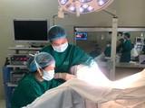 BV Từ Dũ cứu nguy cho bé gái 11 tuổi bị ứ máu nhiều trong âm đạo. Ảnh: BV