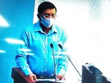 Tường trực UBND TP.HCM phê bình nghiêm khắc Sở Tài nguyên - Môi trường. (Ảnh chụp lại màn hình video ghi lại cuộc họp).