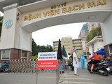 Bệnh viện Bạch Mai. Ảnh: Hoàng Anh