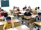 Thi tuyển sinh vào lớp 10. Ảnh: MT
