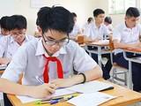 Các học sinh tham gia vào kỳ thi lớp 10. Ảnh: Internet