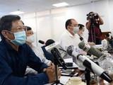 Họp báo khẩn về tình hình dịch COVID-19 tại TP.HCM. Ảnh: Đình Nguyên