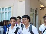 Thí sinh tham dự kỳ thi tốt nghiệp THPT. Ảnh: Minh Thúy