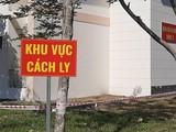 Khu vực cách ly. Ảnh: Nguyễn Trăm