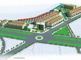 Bản vẽ phối cảnh tổng thể của dự án (Nguồn: Cổng thông tin Giao tiếp điện tử huyện Vĩnh Tường)