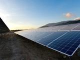 Nhà máy Điện mặt trời Trung Nam tại Ninh Thuận. (Nguồn: Trung Nam Group)